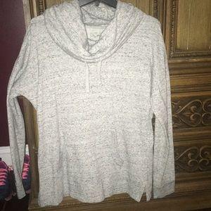 """Wide neck fancy """"sweatshirt"""""""